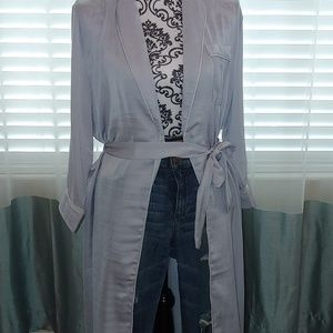 New boohoo duster size L